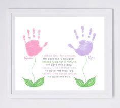 valentine handprint poems for parents