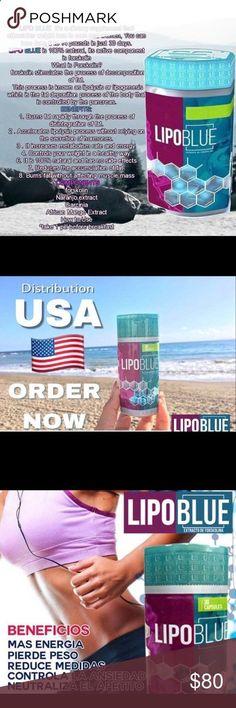 Lipoblue - Dietary Supplement Fat burner LIPO BLUE es un suplemento dietario, cada frasco de tratamiento contiene 30 cápsulas para 30 días respectivamente. Cada cápsula estimula la perdida de peso en hombres y mujeres, en promedio 4 a 6 kg por mes sin dih