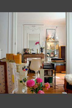 Interiores vintage y decadentes