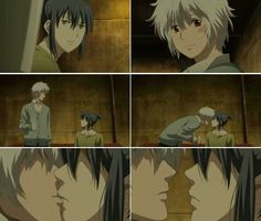 I hyperventilated when this happened. I was not prepared for a fangirl attack lol. Sion x Nezumi (No. 6)