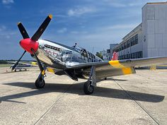 Betty Jane - P-51 Mustang by Kristia Adams