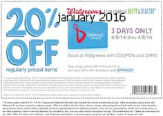 Walgreens coupons & Walgreens promo code inside The Coupons App. off at Walgreens with free rewards card, or online via promo code April Walgreens Photo Coupon, Walgreens Coupons, Dollar General Couponing, Coupons For Boyfriend, Coupon Stockpile, Free Rewards, Free Printable Coupons, Love Coupons, Grocery Coupons