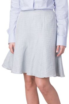 a7478c5b7073 EMPORIO ARMANI Flare Skirt Size 42 / M Linen Blend Two Tone Pattern Double  Layer #fashion #clothing #shoes #accessories #womensclothing #skirts (ebay  link)