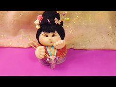 gordita geisha soft ,para decoracion o pasteles ,super refacil de hacer y con retalitos que tengamos por ahi ,espero que os gusteeee