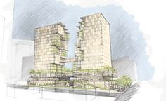 SoMa Towers Design Competition | Olson Kundig