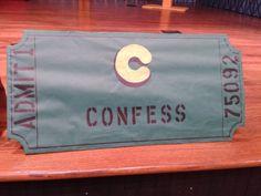 Confess Ticket