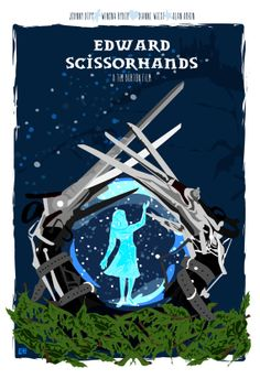 Edward Scissorhands 1990 Inspired Original by CuteStreakDesigns, $25.00