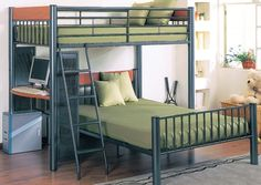 7 Best Bunk Beds Images On Pinterest Bunk Beds Bedrooms And Bunk