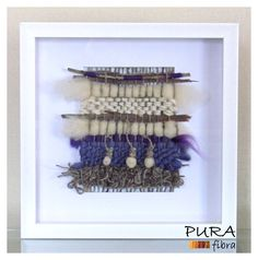 Telar formato 30x30.- Weaving Wall Hanging, Weaving Art, Tapestry Weaving, Loom Weaving, Textiles, Woven Fabric, Fiber Art, Lana, Knit Crochet