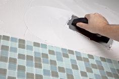 How to Install a Glass Tile #Backsplash
