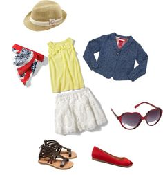 """""""Girls4th of july"""" by stphbllrd on Polyvore"""