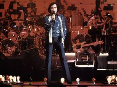 """""""Neil Diamond - Jazz Singer"""" - I saw him in concert and I believe he was wearing this exact outfit."""
