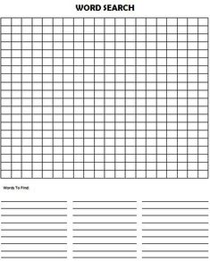 Make Your Own Word Search Puzzle This is such an easy activity idea for kids! Using this free Make Your Own Word Search Puzzle template, create your own word search puzzles. Word Puzzles For Kids, Puzzles Für Kinder, Free Word Search Puzzles, Word Search Games, Make A Word Search, Crossword Puzzle Maker, Templates Printable Free, Free Printables, Printable Puzzles