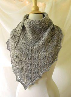 Peppernut Lace Shawl Knitting Pattern PDF
