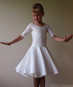 "Juvenile Ballroom Dancing Dress ""Jasmine"""