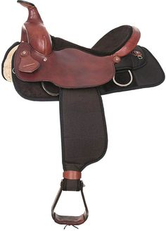 54c7edd059a Double Rigged with Grain Out Seat Western Trail Horse Saddle - 16 Brown
