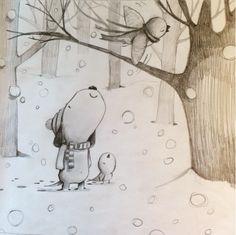 Snow outside my studio, snow inside my studio. https://www.facebook.com/davidwalkerstudiosjapan/