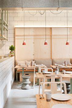 Ruyi Restaurant in Melbourne. Designed by Hecker Guthrie. A Chinese restaurant.