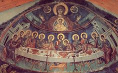 Last Supper, Stavronikita Monastery, Mount Athos, Greece  Whispers of an Immortalist: Icons of Christ's Passion 2