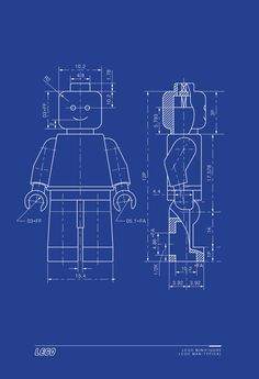 Gibson guitar blueprint gits pinterest gibson guitars items similar to lego man art print lego minifigure typical blueprint technical drawing on etsy malvernweather Gallery