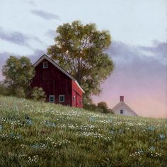Evening Glow by Fred Swan.....Welcome To The Home For The Best in Vermont Art