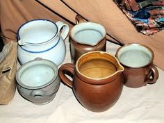 How to Clean Vintage Pottery Stoneware