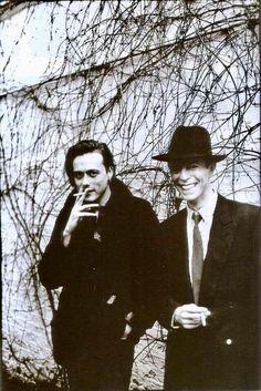 vezzipuss.tumblr.com — David Bowie & Brett Anderson, Circa 93