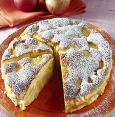 Gâteau-flan aux pommes – All You Need Apple Dessert Recipes, Apple Recipes, Pumpkin Recipes, No Bake Desserts, Baby Food Recipes, Desserts Caramel, Flan Cake, German Baking, Apple Butter