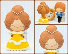 Beauty and the Beast PDF Pattern by Noialand on Etsy