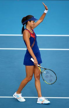 casualvolley:  Ana Ivanovic def. Venus Williams 6-2 5-7 6-4 in 2 hours and 20 minutes to win the ASB Classic in Auckland, New Zealand—her 12...