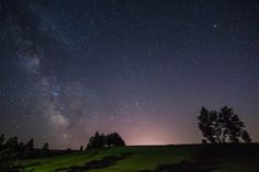 The family's tree and Milky Way by Nao Akimoto on 500px