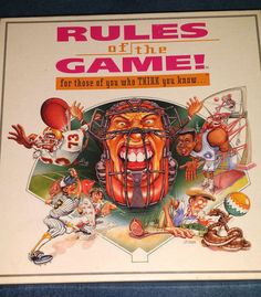 Rules of Game Sports Trivia Football Baseball Basketball Golf COMPLETE Game…