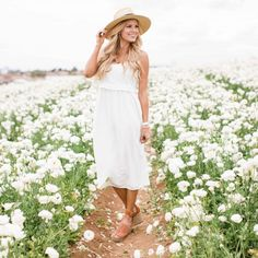 There's nothing more classic for summer than a LWD {little white dress} and this one is under $100! So I splurged on the shoes.