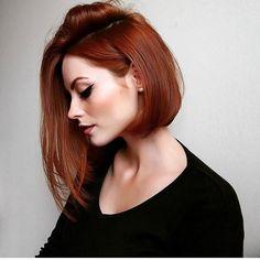 ▪️ ▪️ ▪️ ▪️ #ruivas #ruivasdadepressão #amoracobreado #redhead #cabeloscurtos #raposinhas
