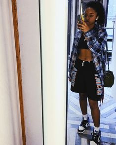 Lit Outfits, Cute Swag Outfits, Fresh Outfits, Tomboy Outfits, Chill Outfits, Black Girl Fashion, Tomboy Fashion, Streetwear Fashion, Fashion Outfits