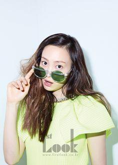 Lee Na-young // 1st Look Korea // January 2012