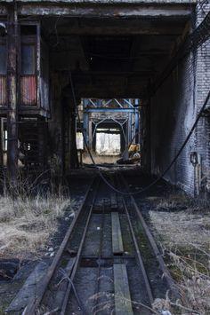 Coalmine by Julia Kaczorowska, via Behance Coal Mining, Industrial, Behance, Dark, Industrial Music
