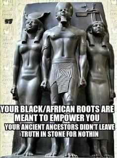 They blew off our noses, attempting to erase our roots, so that we would forever feel inferior. Our African beginnings should NEVER bring us shame.  Our time as African King and Queens were when we were at the apex of our knowledge, influence and power. Before the great rape and enslavement of our people.