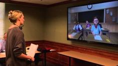 Thanks to a virtual reality classroom, Ole Miss education students are able to hone their skills in front of almost life-like students. Video by Mary Stanton.