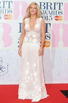Brits 2015 red carpet   Brit Awards arrivals and pictures   Ellie Goulding