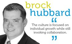The culture is focused on individual growth while still invoking collaboration.