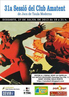 31a Sessió (27-07-2013) http://amatent.blogspot.com.es/2013/08/cronica-31a-sessio-27-07-2013.html