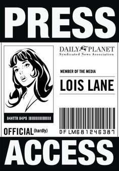 Daily Planet Press Pass