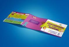 Brochure sobre abuso sexual de Comfamiliar, Risaralda