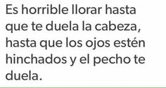 Es completamente horrible y mas si es de seguido, de todas maneras es horrible..