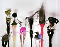Isabella Blow's collection of Philip Treacy hats.