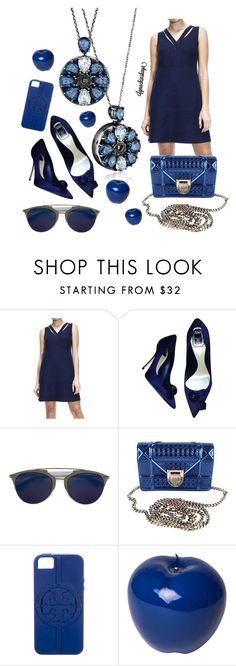 """""""heritage"""" by ignachinskaya ❤ liked on Polyvore featuring Valentino, Christian Dior, Tory Burch, Bitossi and totwoo"""