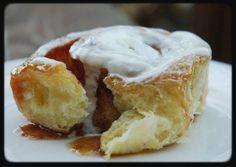 Eggnog Cinnamon Rolls- ooooo... now that's what I'm talking about! YUM! :)