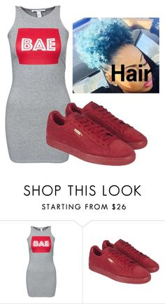 """Cute Outfit"" by beautyqueen-927 ❤ liked on Polyvore featuring NLY Trend and Puma"