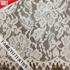 Popular Floral Lace Fabric for Dress